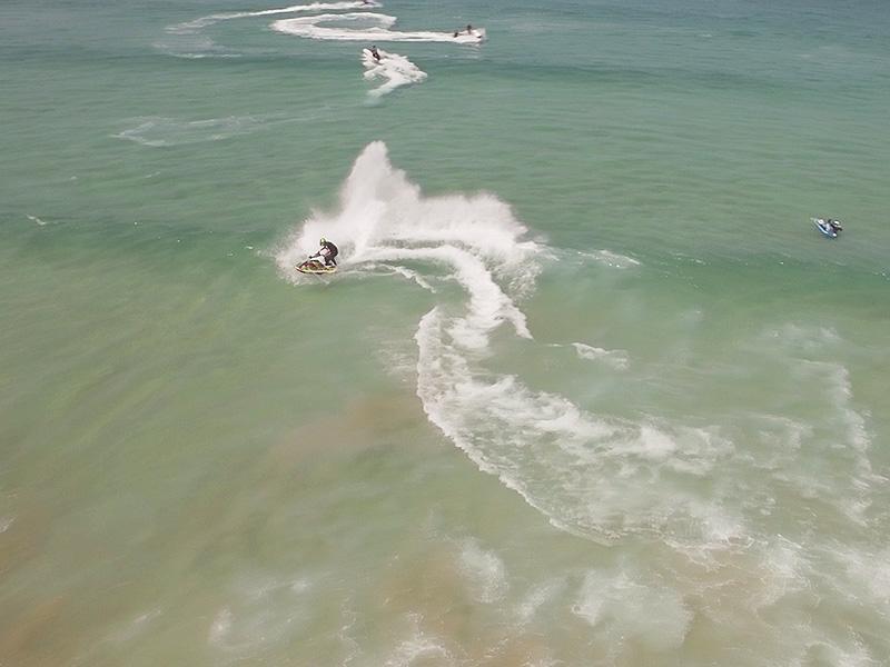 Drone Jet Ski Filming